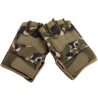 Перчатки охотничьи камуфляж укороченные 5.11 XL