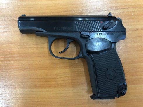 Пневматический пистолет МР-658К к.4,5 мм