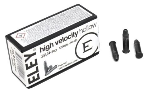 Патроны ELEY  к.22 LR HIGH VELOCITY HOLLOW (50 шт.)