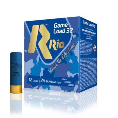 Патроны 12/70 №0000 RIO Game Load-32  (25 шт.)