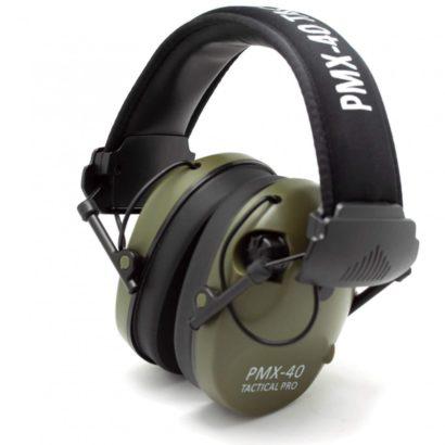Наушники активные PMX-40 Tactical PRO (green)