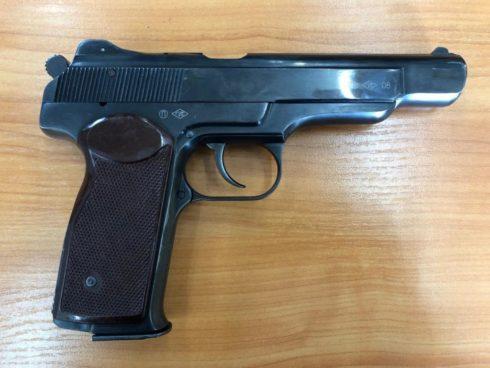 (КОМИССИЯ) Пистолет АПС-М к.10*22Т №АС642К