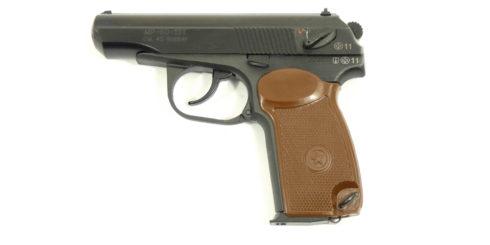 Пистолет МР-80-13Т к.45 Rubber без дополнительного магазина (ОООП)