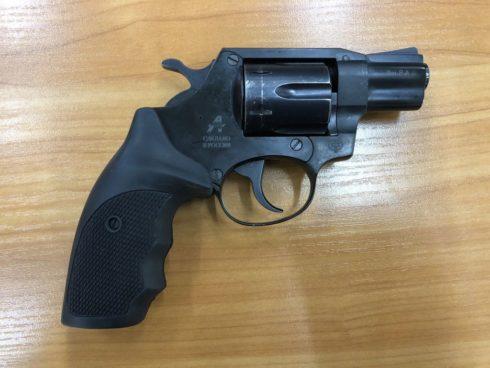 (КОМИССИЯ) Револьвер Гроза-Р-02 к.9РА мм № 1520825