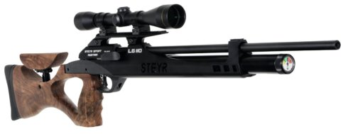 Пневматическая PCP винтовка Steyr LG 110Hunting к.5,5 мм.