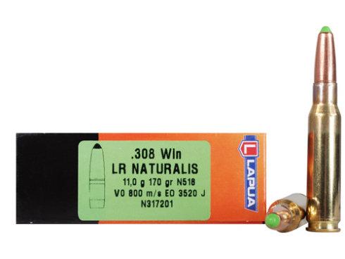 Пуля охотничья Lapua Naturalis к. .308 (11.0g/170gr) (10шт)