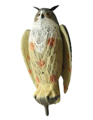 Филин большой с крыльями