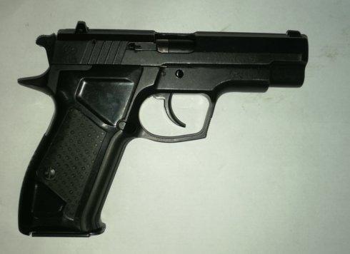 (КОМИССИЯ)Пистолет Хорхе к.9ммРА мм № 084457
