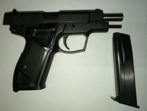 Пистолет Гроза 021 к.9РА №134462