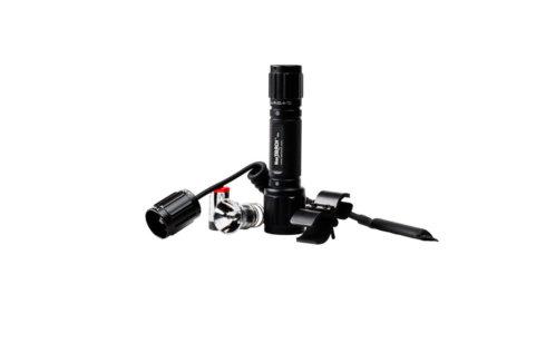 Комплект фонарь Ultra Fire XML-T6 250 люмен 4реж+кольца+выносная кнопка