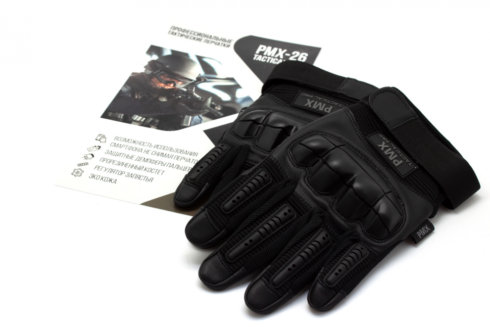 Перчатки PMX-26 TACTICAL PRO Black размер XXXL