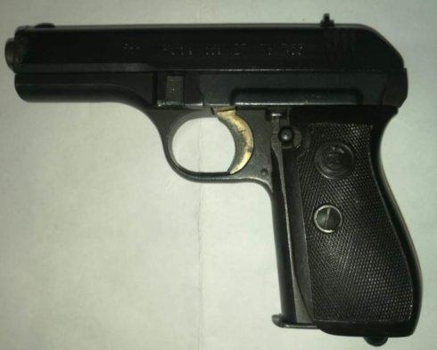 СХП Пистолет CZ mod. 27 к.8мм PA
