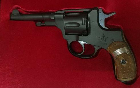 Оружие охолощенное ОС револьвер