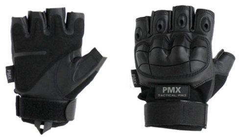 Перчатки PMX-26 TACTICAL PRO Black укороченные XL